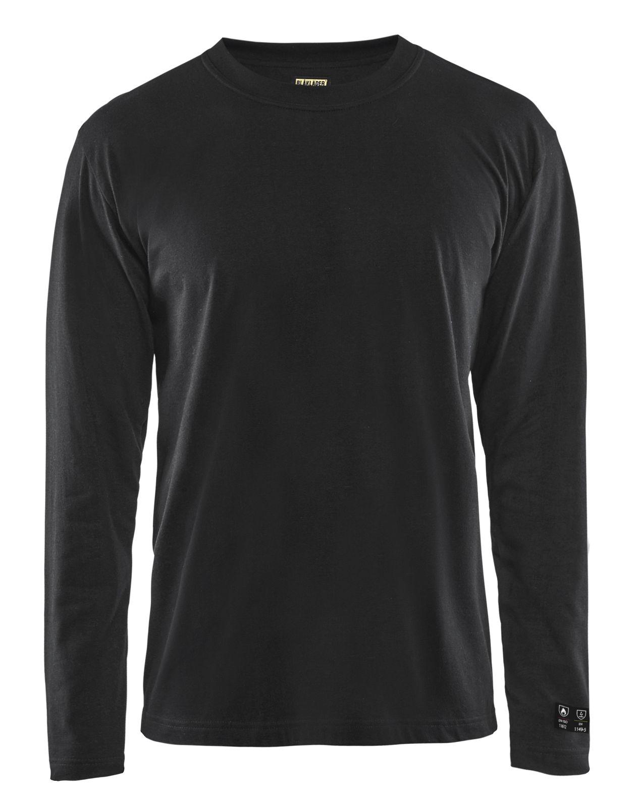 Blaklader T-shirts 34831717 Vlamvertragend zwart(9900)
