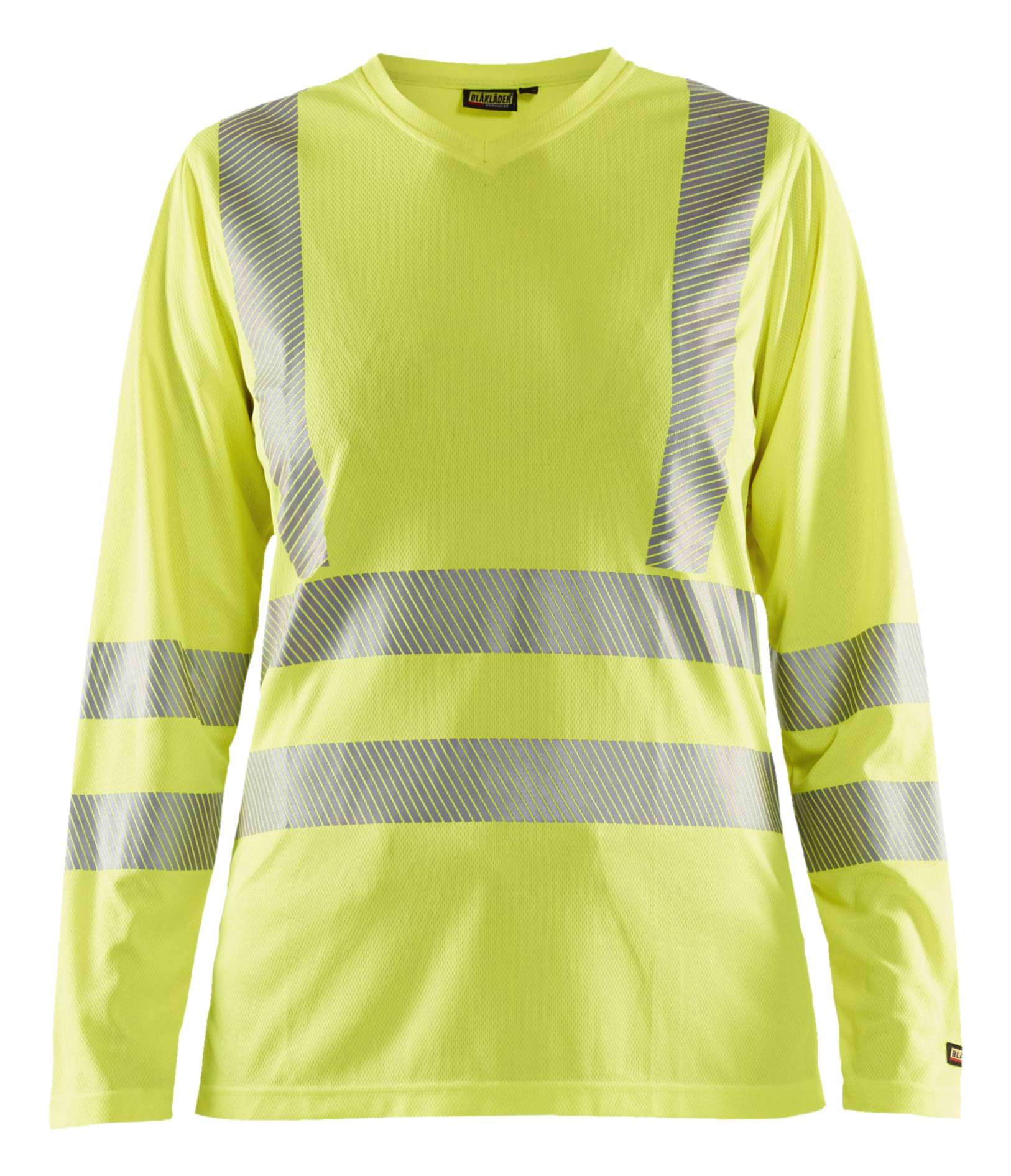 Blaklader Dames t-shirts 34851013 High Vis UPF40+ UV fluo-geel(3300)