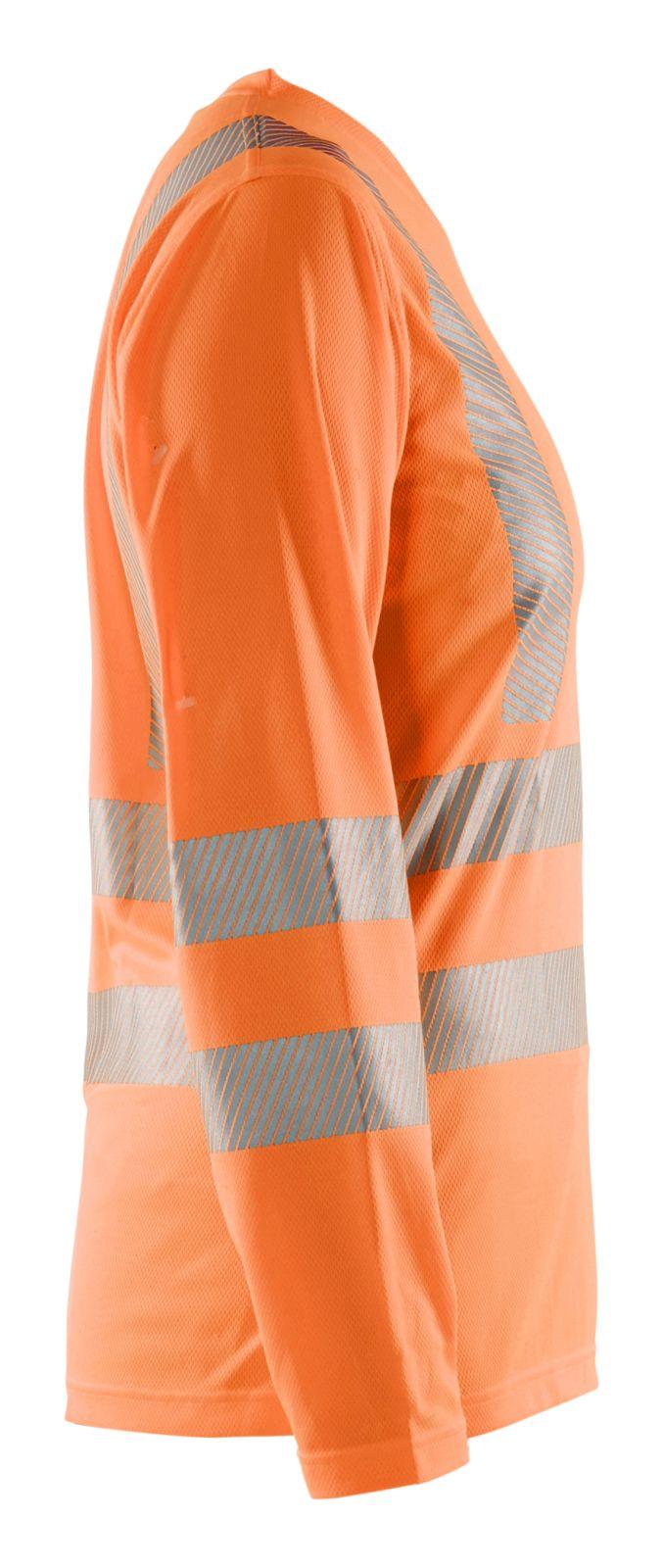 Blaklader Dames t-shirts 34851013 High Vis UPF40+ UV fluo-oranje(5300)