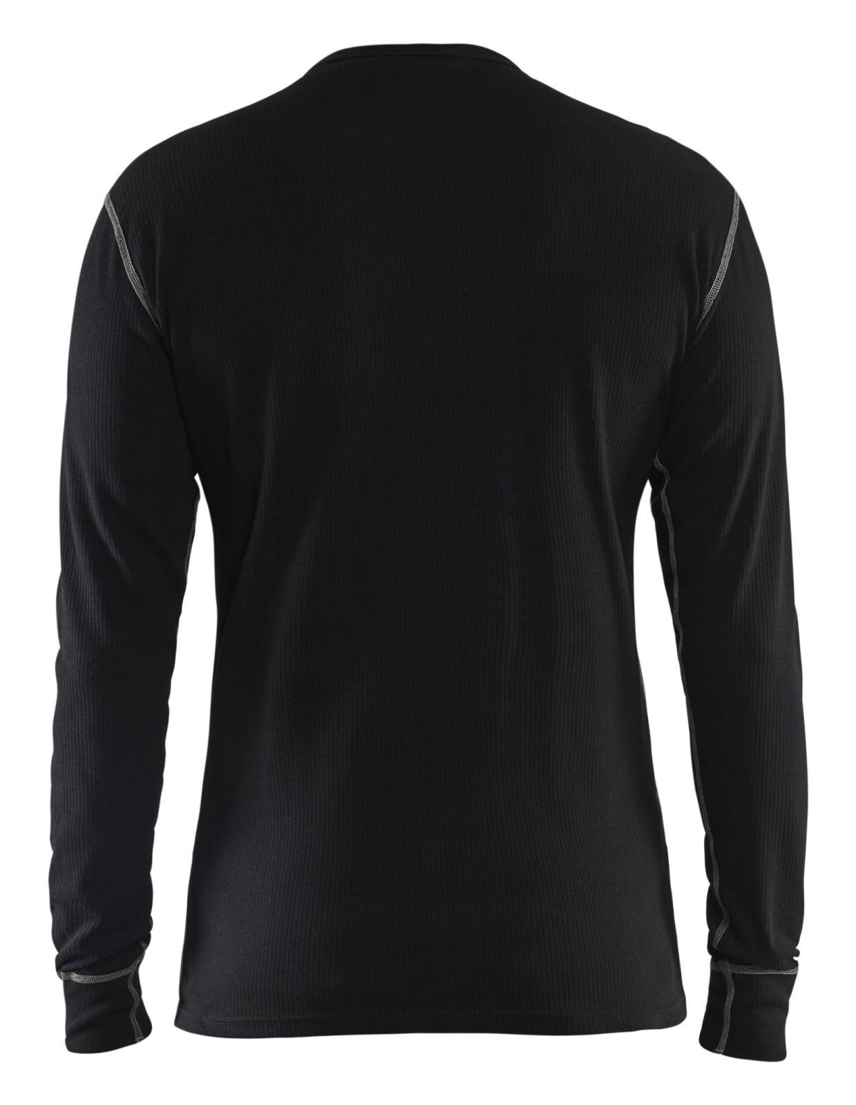 Blaklader Ondershirts 34981725 Vlamvertragend zwart(9900)