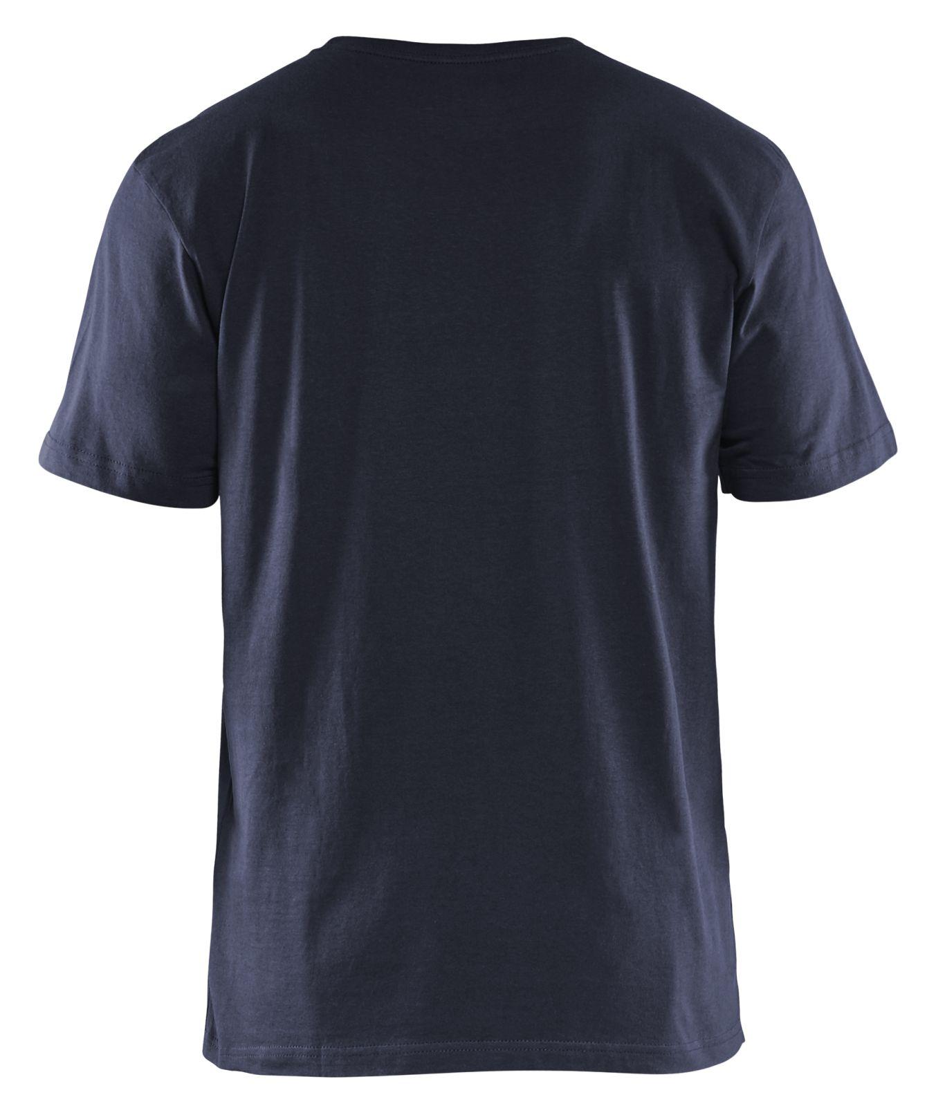 Blaklader T-shirts 35251042 marineblauw(8600)