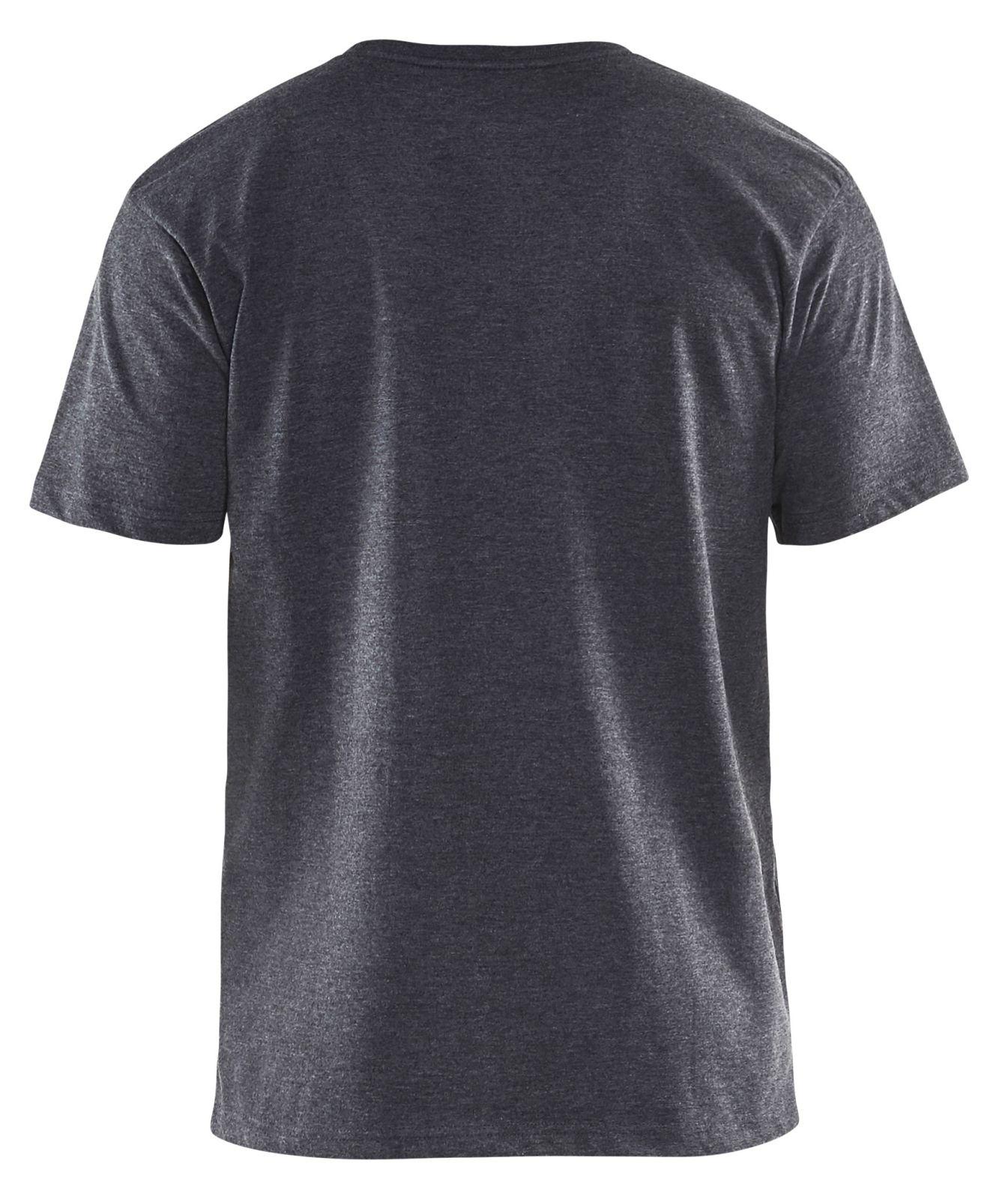 Blaklader T-shirts 35251053 zwart melee(9991)