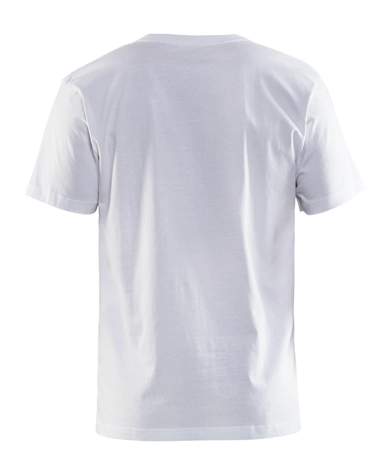 Blaklader T-shirts 35351063 wit(1000)