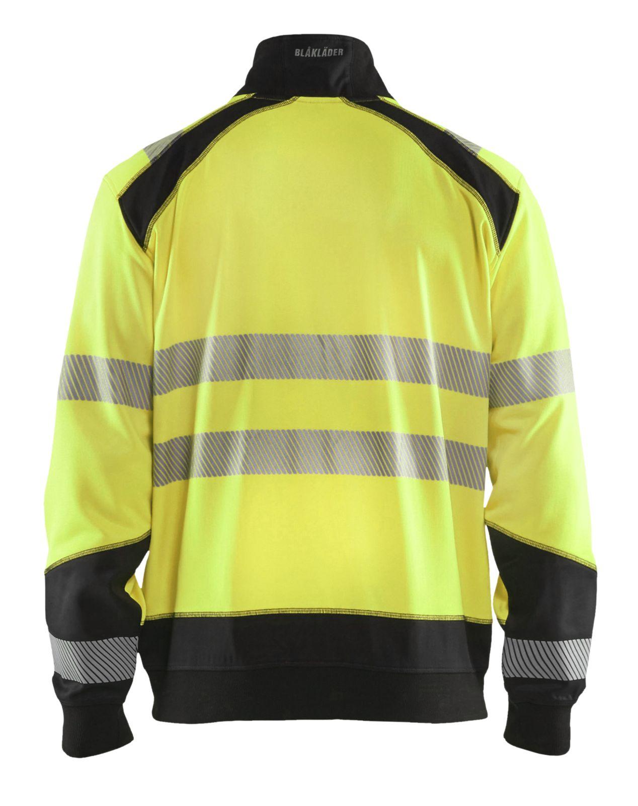 Blaklader Truien 35562528 High Vis fluo geel-zwart(3399)