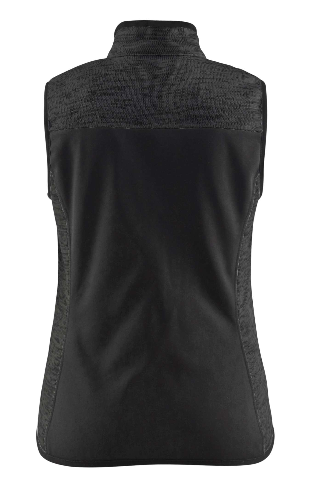 Blaklader Dames bodywarmers 38122117 Gebreid antraciet-wit(9710)