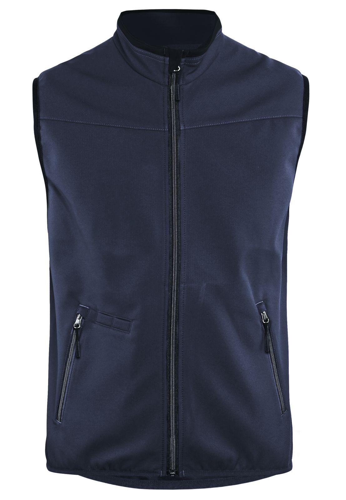 Blaklader Softshell bodywarmers 38502516 donker marineblauw-zwart(8699)