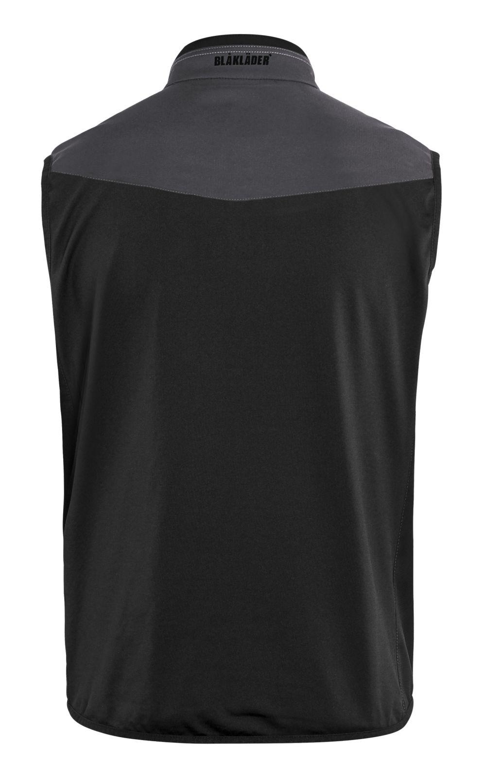 Blaklader Softshell bodywarmers 38502516 midden grijs-zwart(9699)