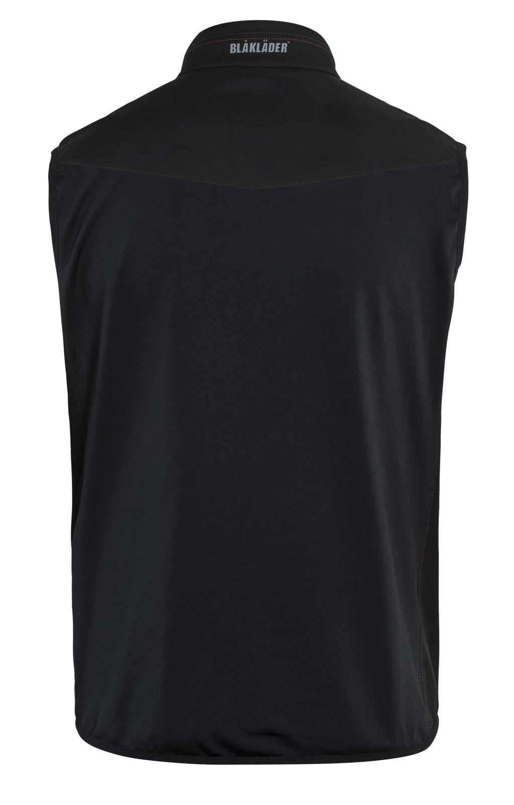 Blaklader Softshell bodywarmers 38502516 zwart-rood(9956)