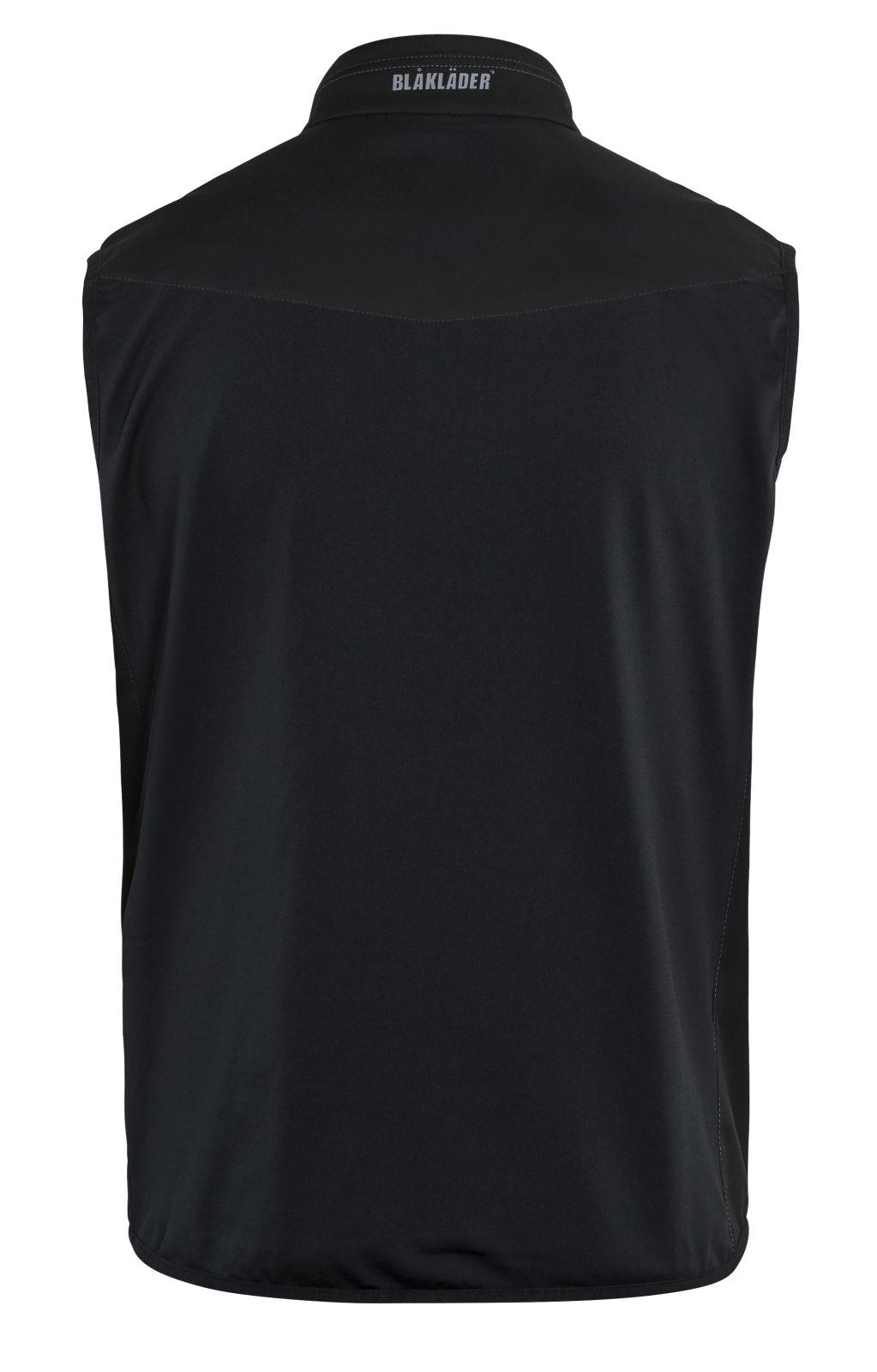 Blaklader Softshell bodywarmers 38502516 zwart-grijs(9998)