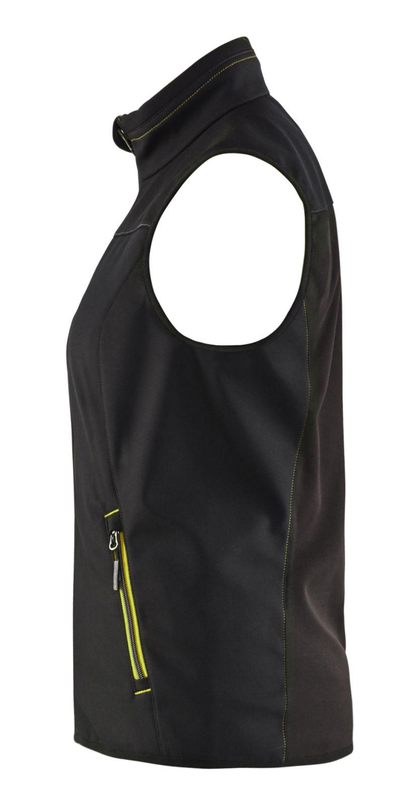 Blaklader Bodywarmers 38512516 zwart-fluo geel(9933)
