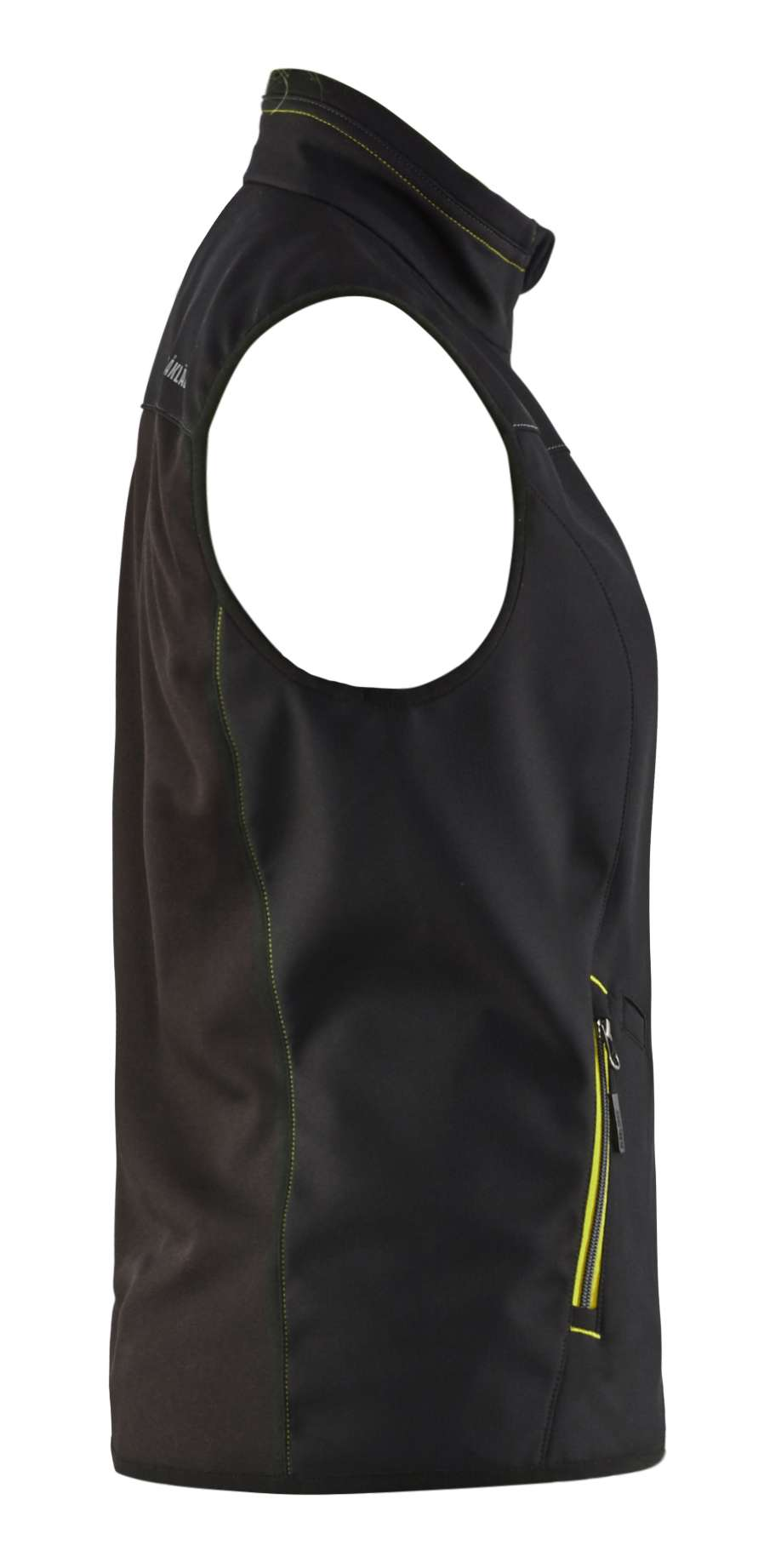 Blaklader Dames bodywarmers 38512516 zwart-fluo geel(9933)