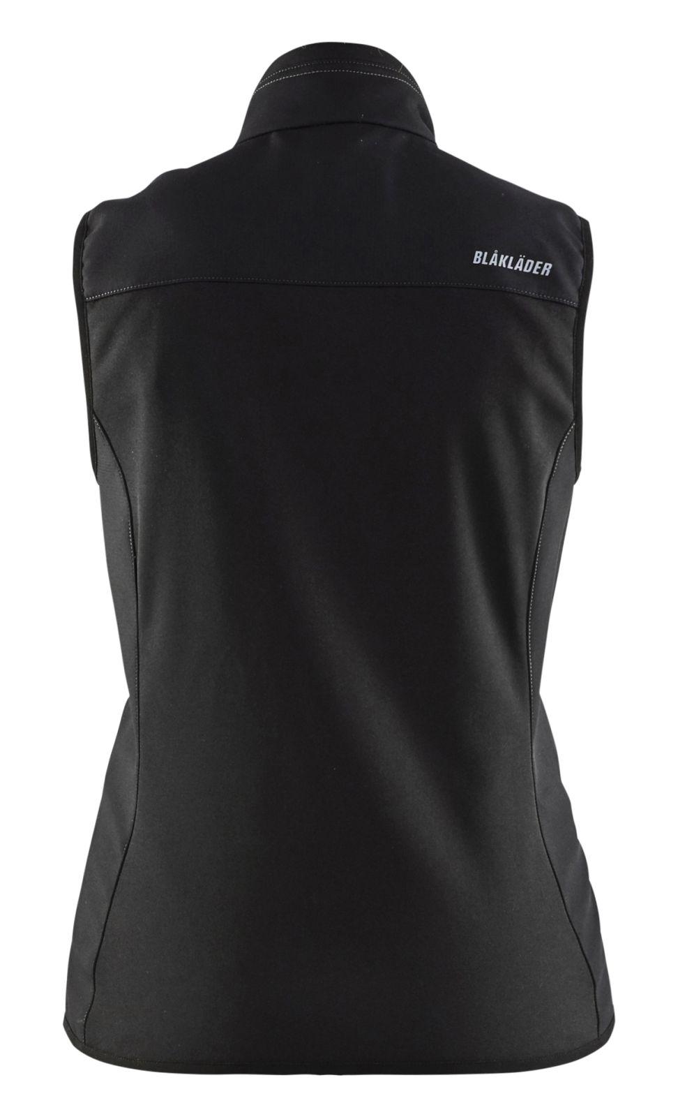 Blaklader Dames bodywarmers 38512516 zwart-donkergrijs(9998)