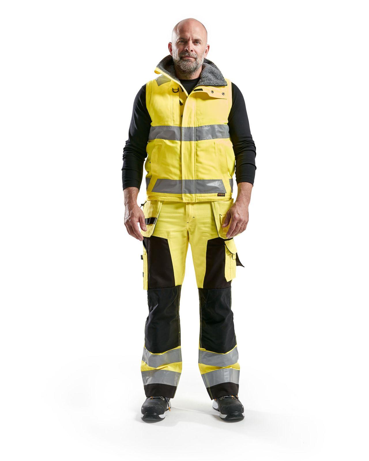 Blaklader Bodywarmers 38701900 High Vis geel(3300)