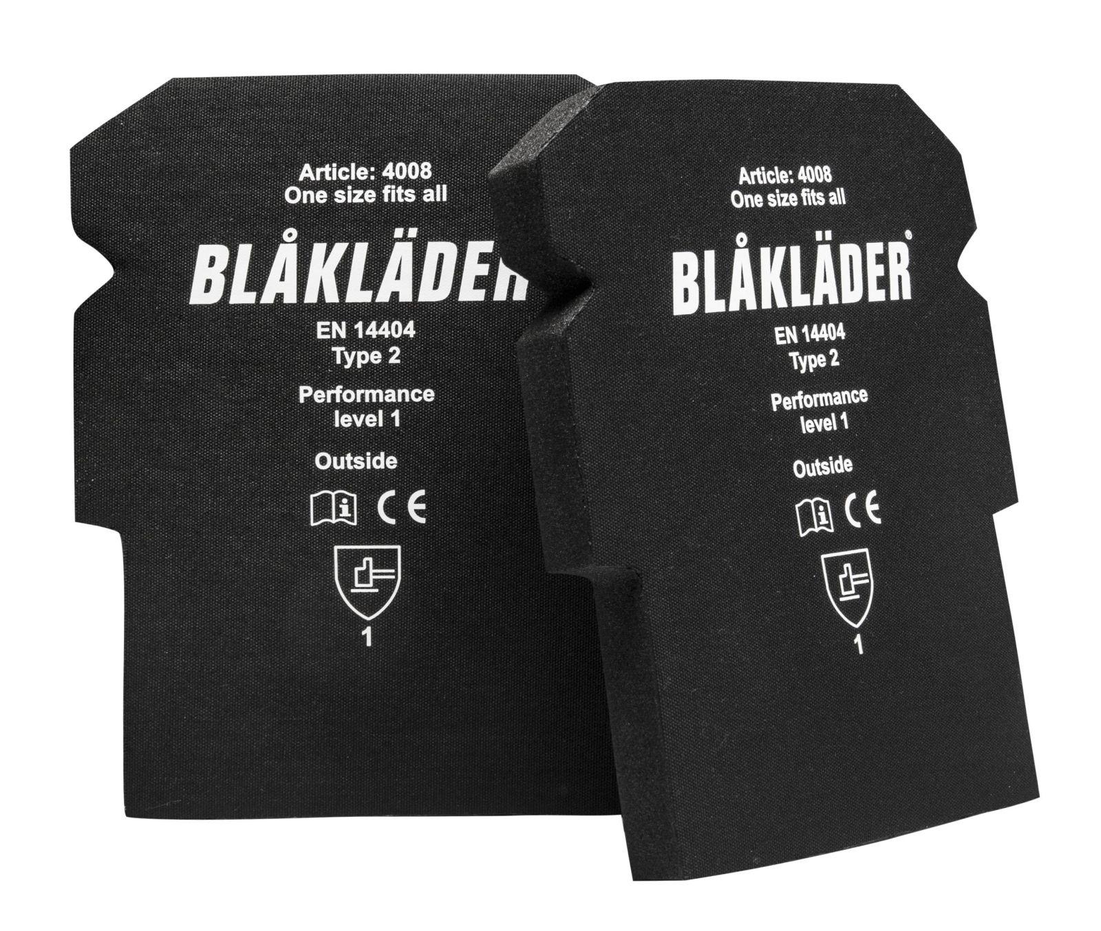 Blaklader Kniekussens 40081015 zwart(9900)