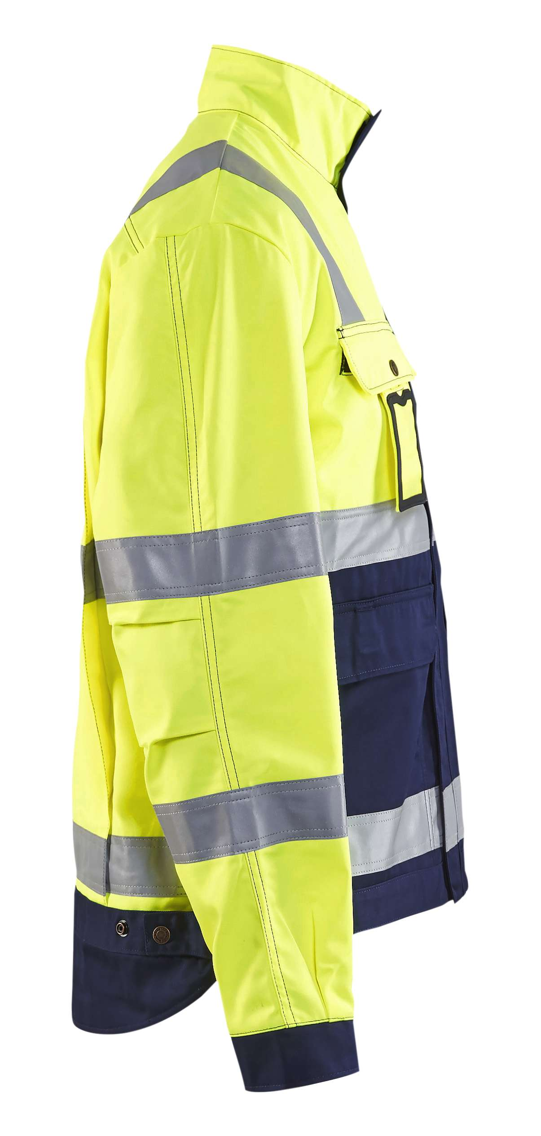 Blaklader Combi-jacks 40231804 High Vis geel-marineblauw(3389)