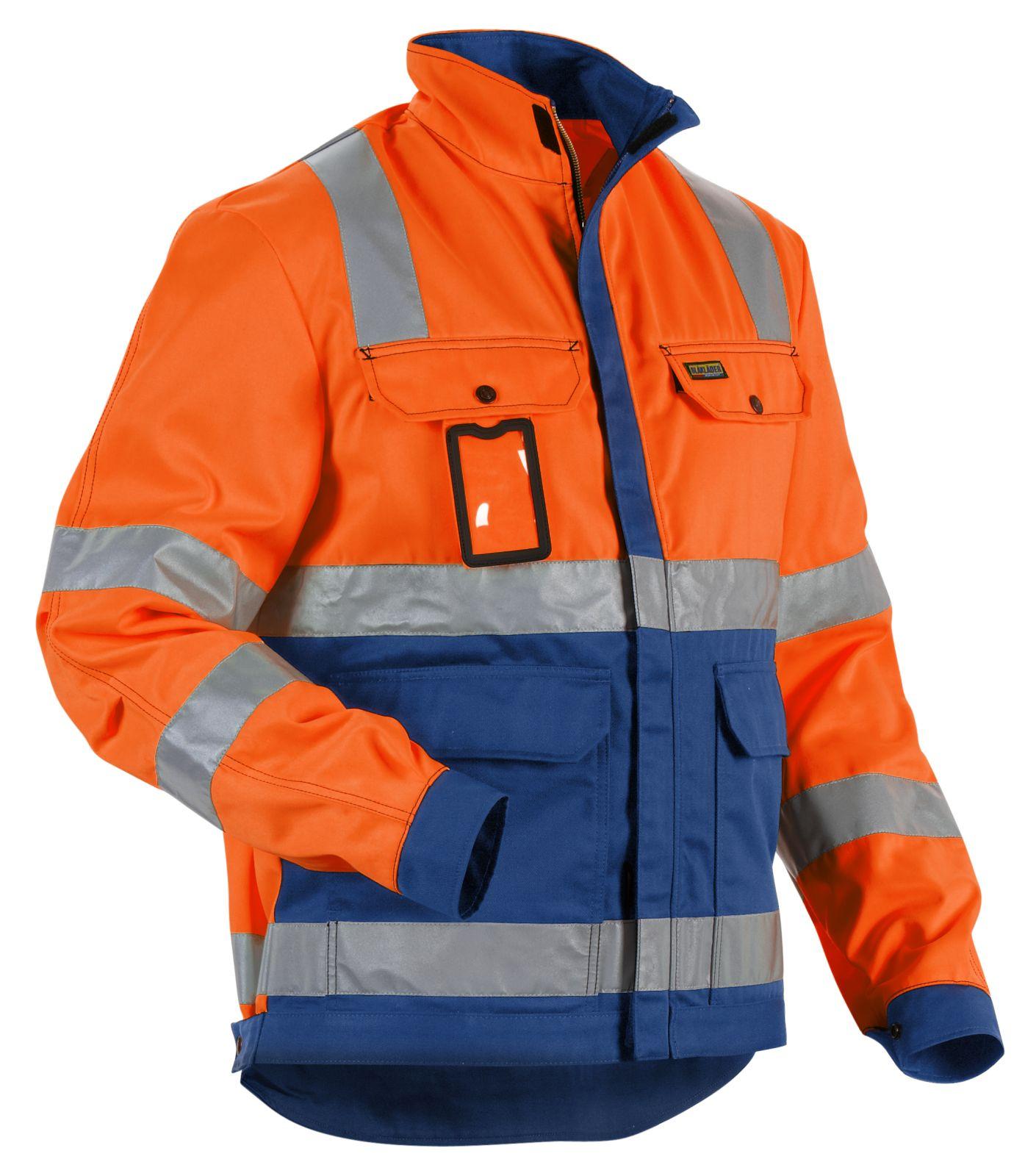 Blaklader Combi-jacks 40231804 High Vis oranje-korenblauw(5385)