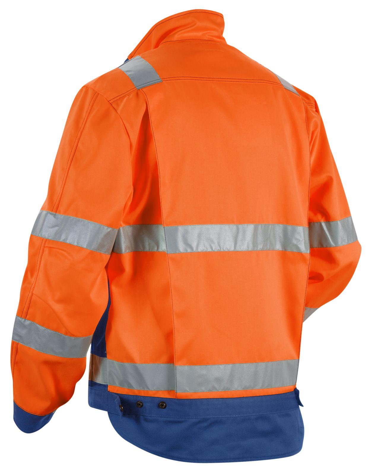 Blaklader High visual Combi-jacks 40231804 Polyester- katoen fluo oranje-kobaltblauw(5385)