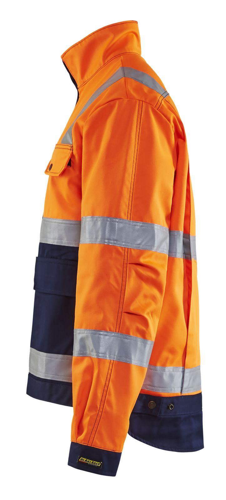 Blaklader Combi-jacks 40231804 High Vis oranje-marineblauw(5389)
