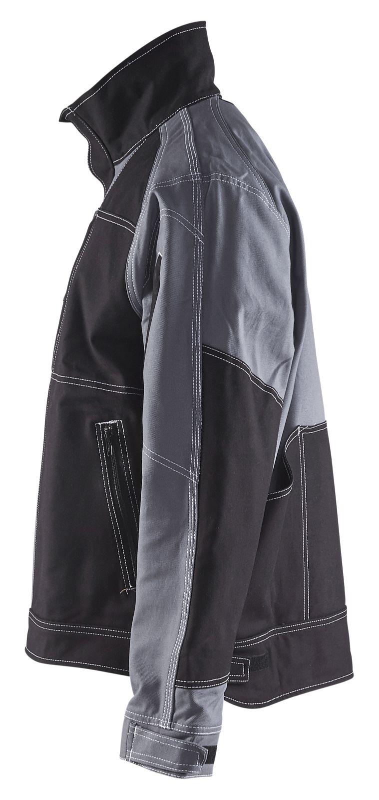 Blaklader Combi-jacks 40401370 grijs-zwart(9499)