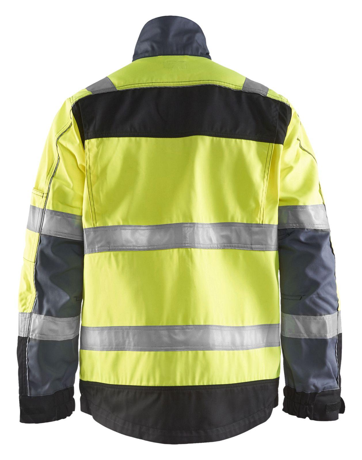 Blaklader Jassen 40511811 High Vis geel-zwart(3399)