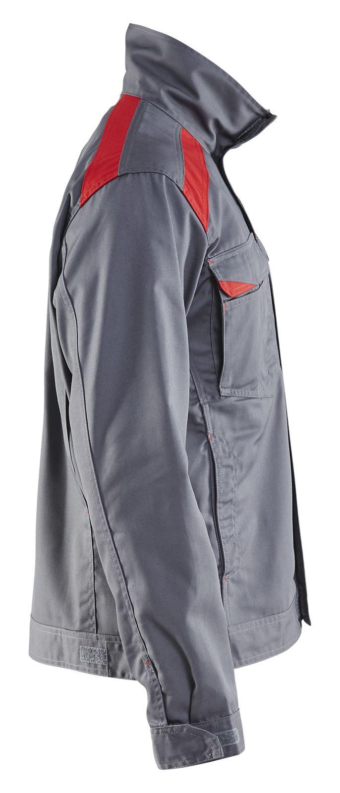 Blaklader Combi-jacks 40541800 grijs-rood(9456)