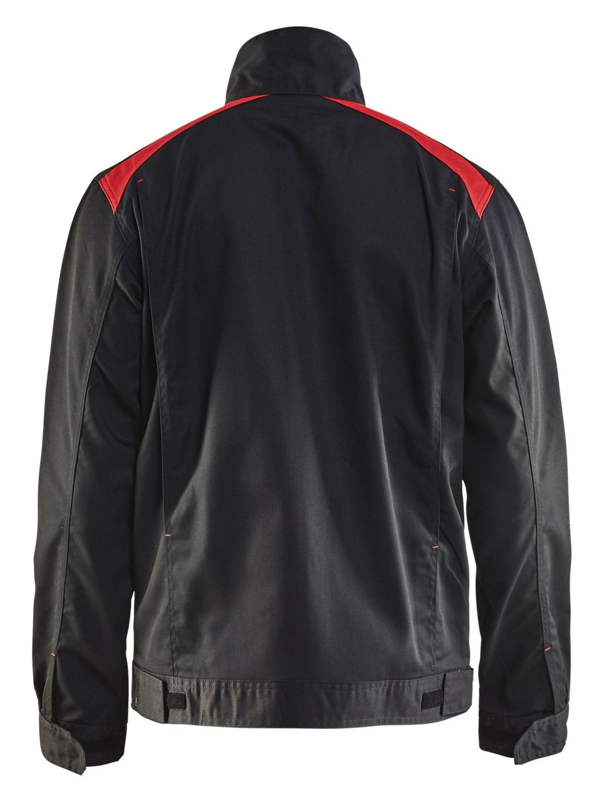 Blaklader Combi-jacks 40541800 zwart-rood(9956)