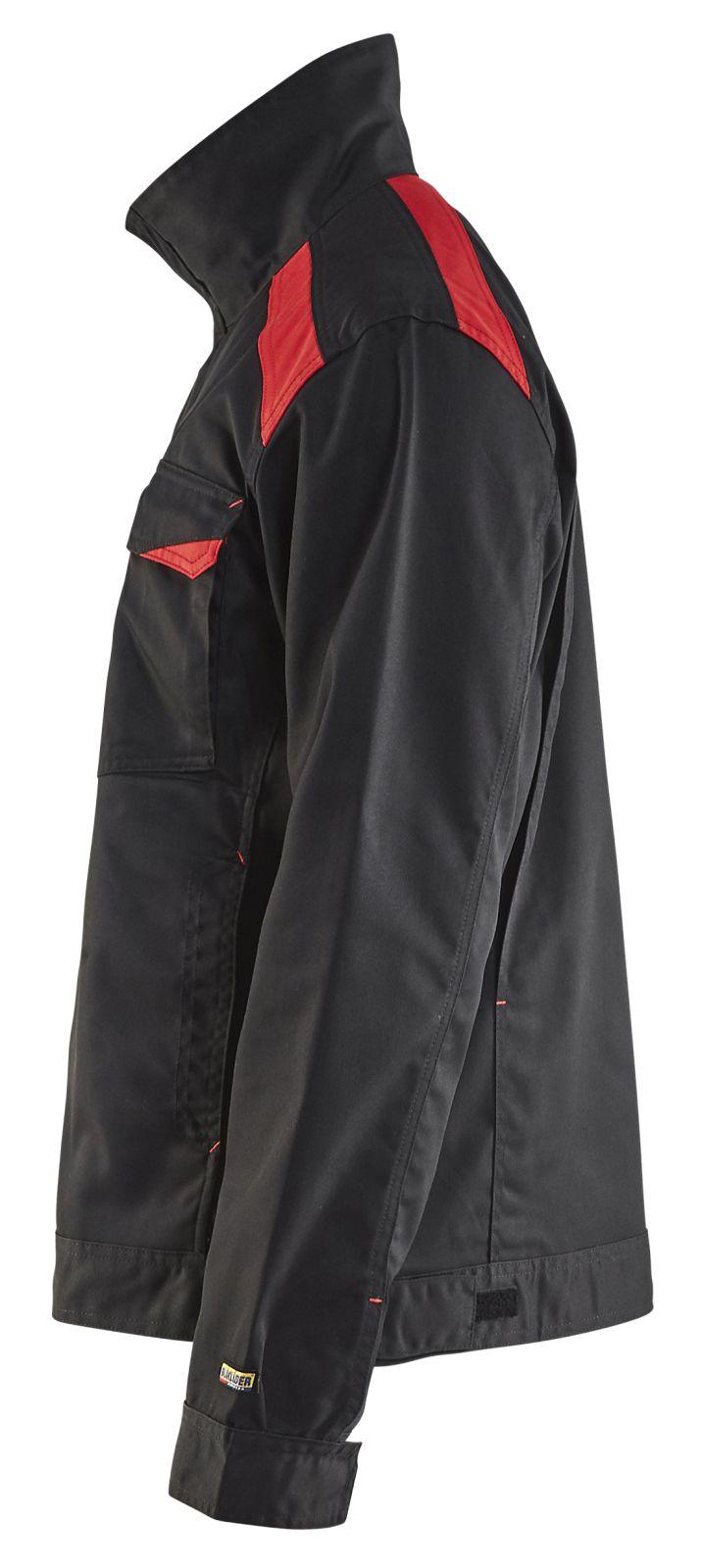 Blaklader Jassen 40541800 zwart-rood(9956)