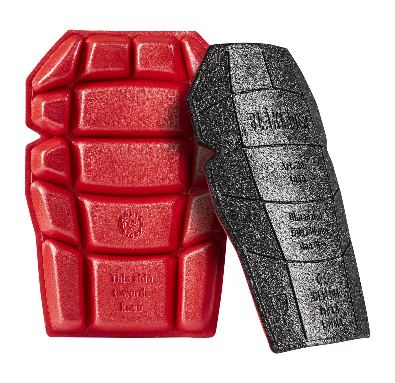 Blaklader Kniebeschermers 40581203 zwart-rood(9956)
