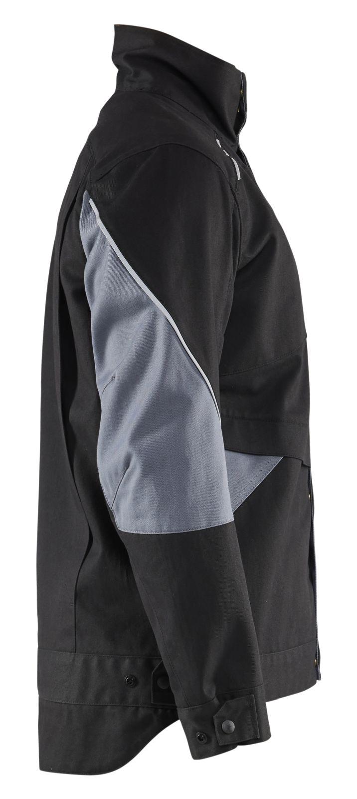 Blaklader Combi-jacks 40611516 Vlamvertragend zwart-grijs(9994)