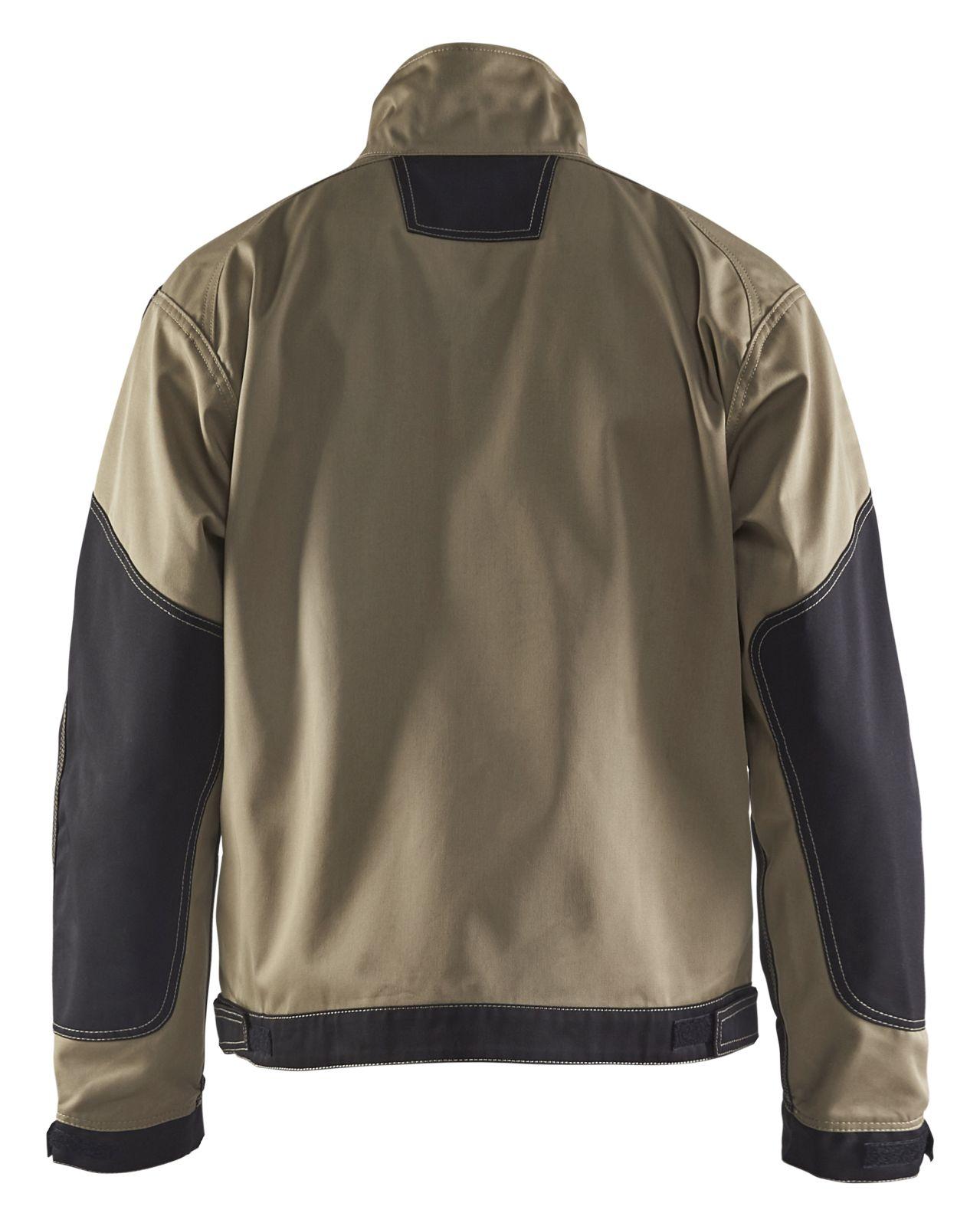 Blaklader Combi-jacks 40631860 khaki-zwart(2499)