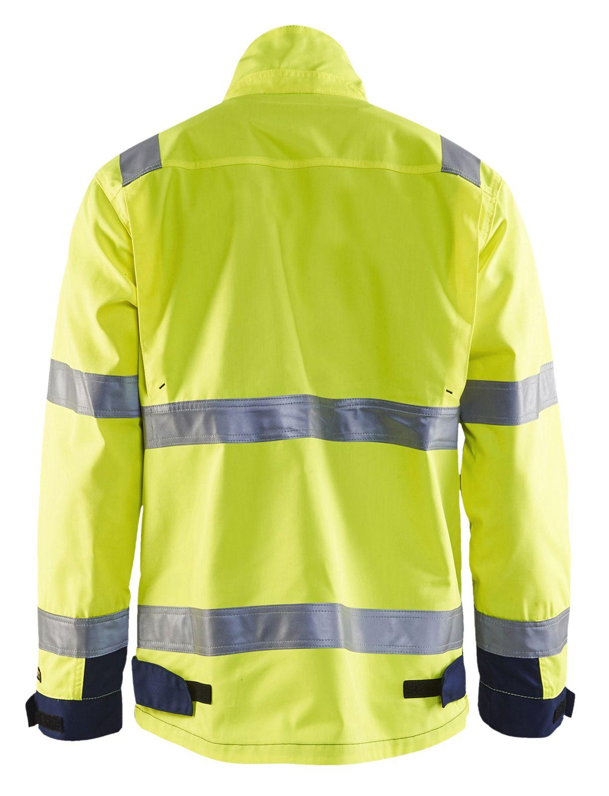 Blaklader Combi-jacks 40641811 High Vis geel-marineblauw(3389)