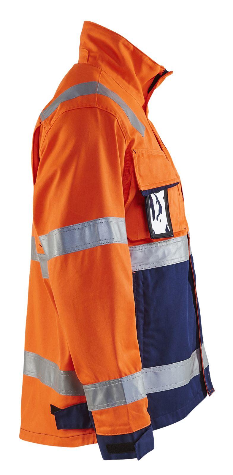 Blaklader Combi-jacks 40641811 High Vis oranje-marineblauw(5389)