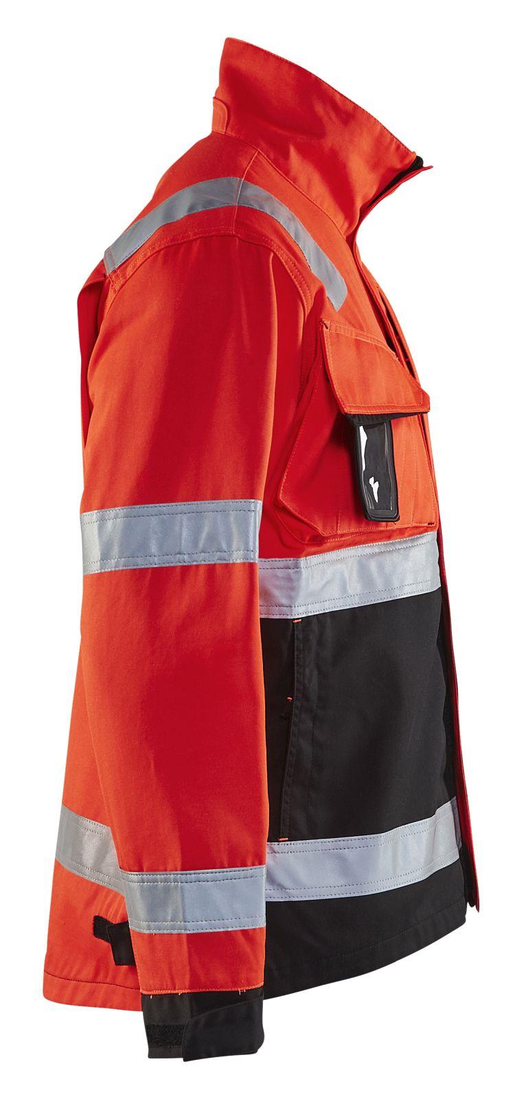 Blaklader Combi-jacks 40641811 High Vis fluor rood-zwart(5599)