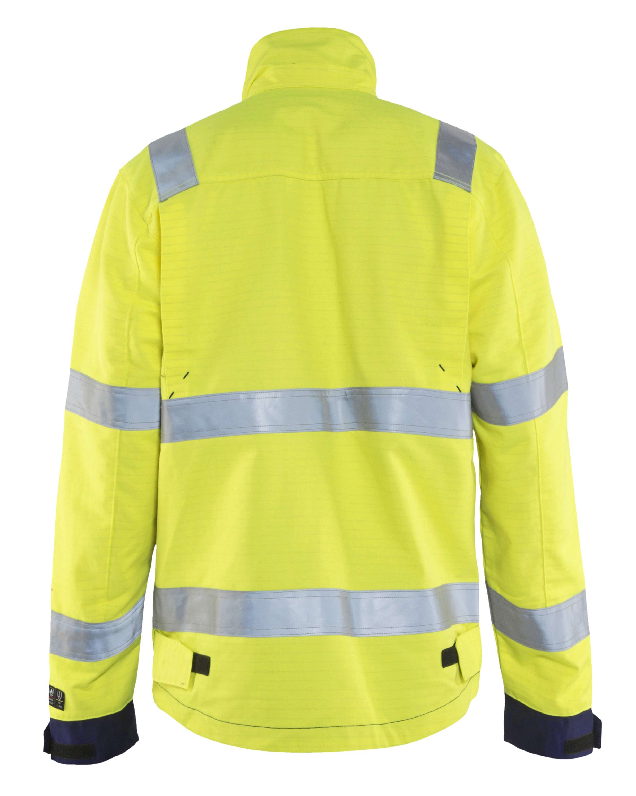 Blaklader Combi-jacks 40871514 Multinorm geel-marineblauw(3389)