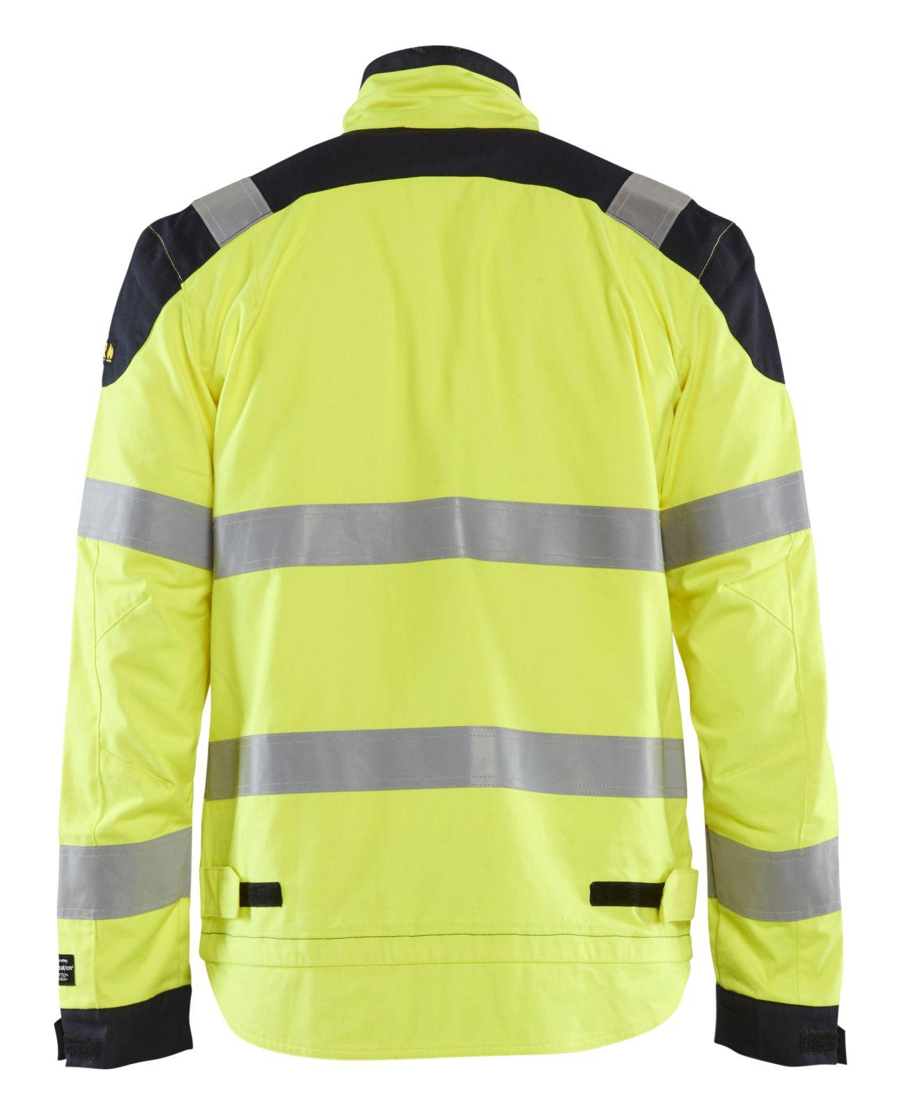 Blaklader Jasjes 40891512 Multinorm geel-marineblauw(3389)