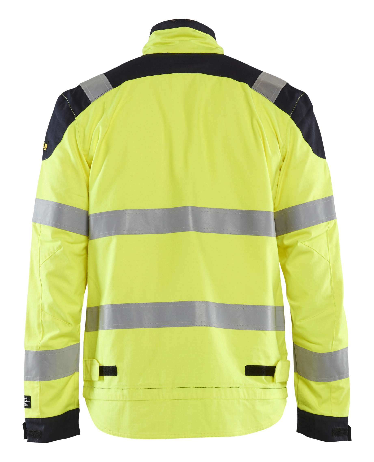 Blaklader Combi-jacks 40891512 Multinorm geel-marineblauw(3389)