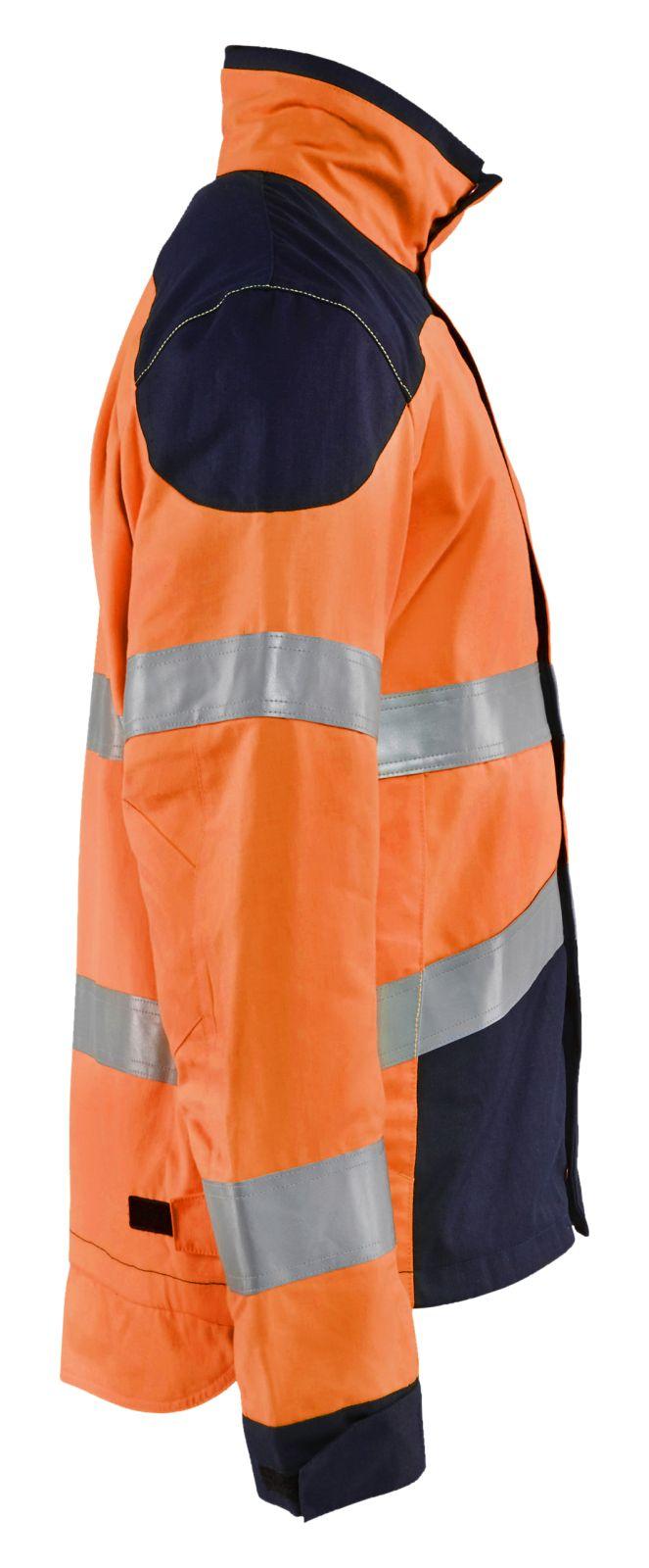 Blaklader Jassen 40891513 Multinorm fluo oranje-marineblauw(5389)