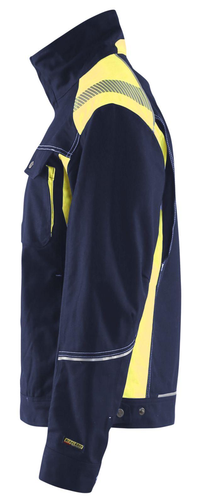 Blaklader Combi-jacks 40951370 marineblauw-geel(8833)
