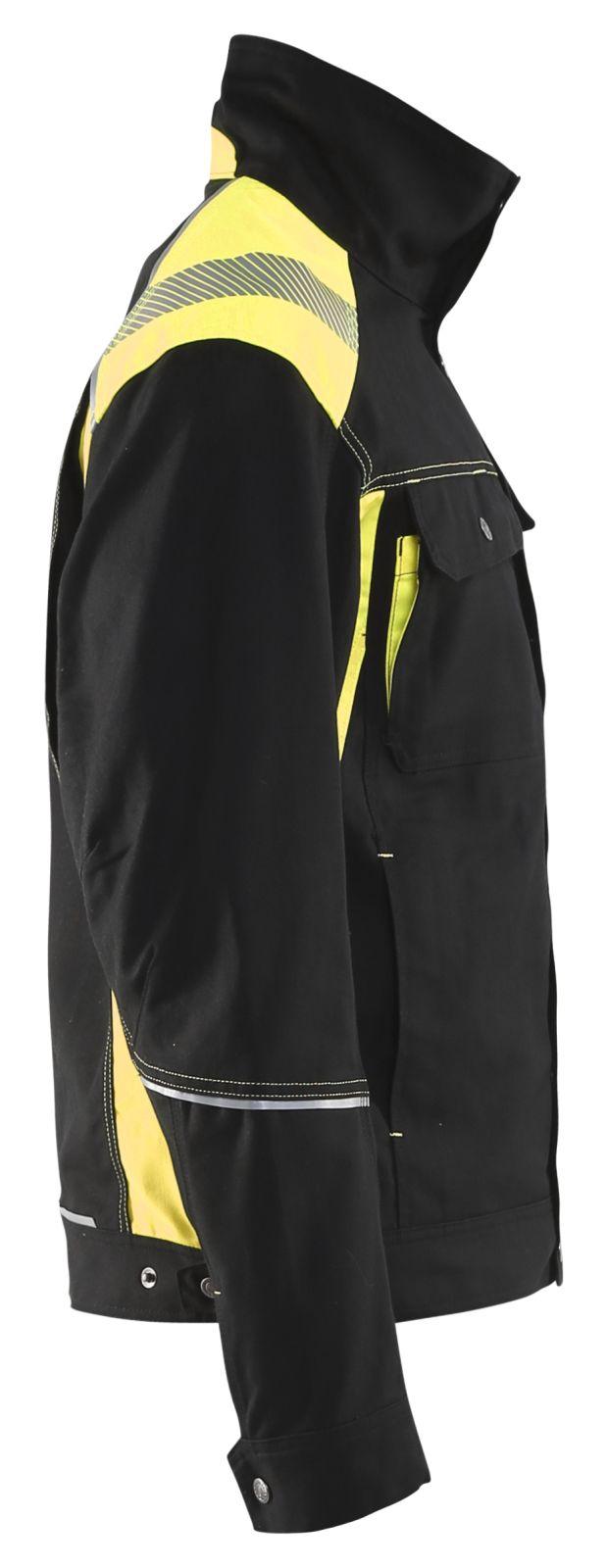 Blaklader Combi-jacks 40951370 zwart-geel(9933)