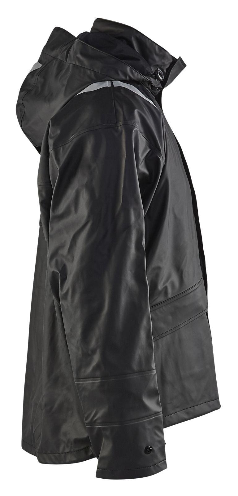 Blaklader Regenjacks 43022003 High Vis zwart(9900)