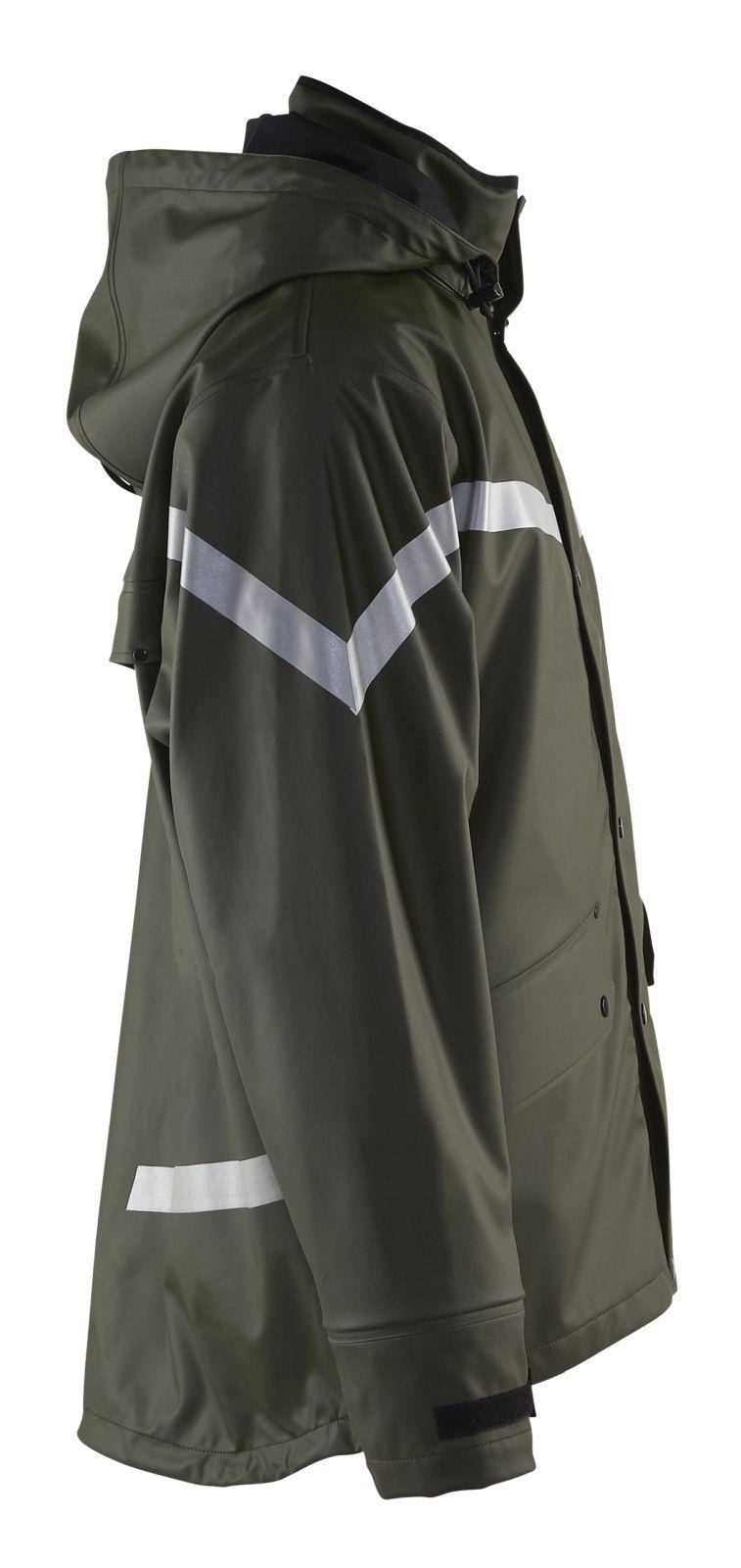 Blaklader Regenjacks 43052003 army groen(4600)