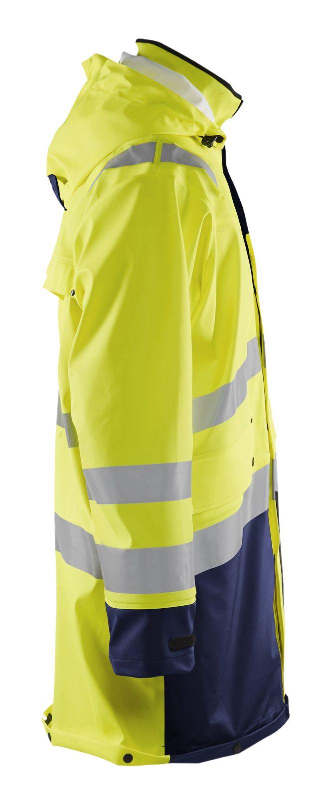 Blaklader Jassen 43062003 High Vis geel-marineblauw(3389)