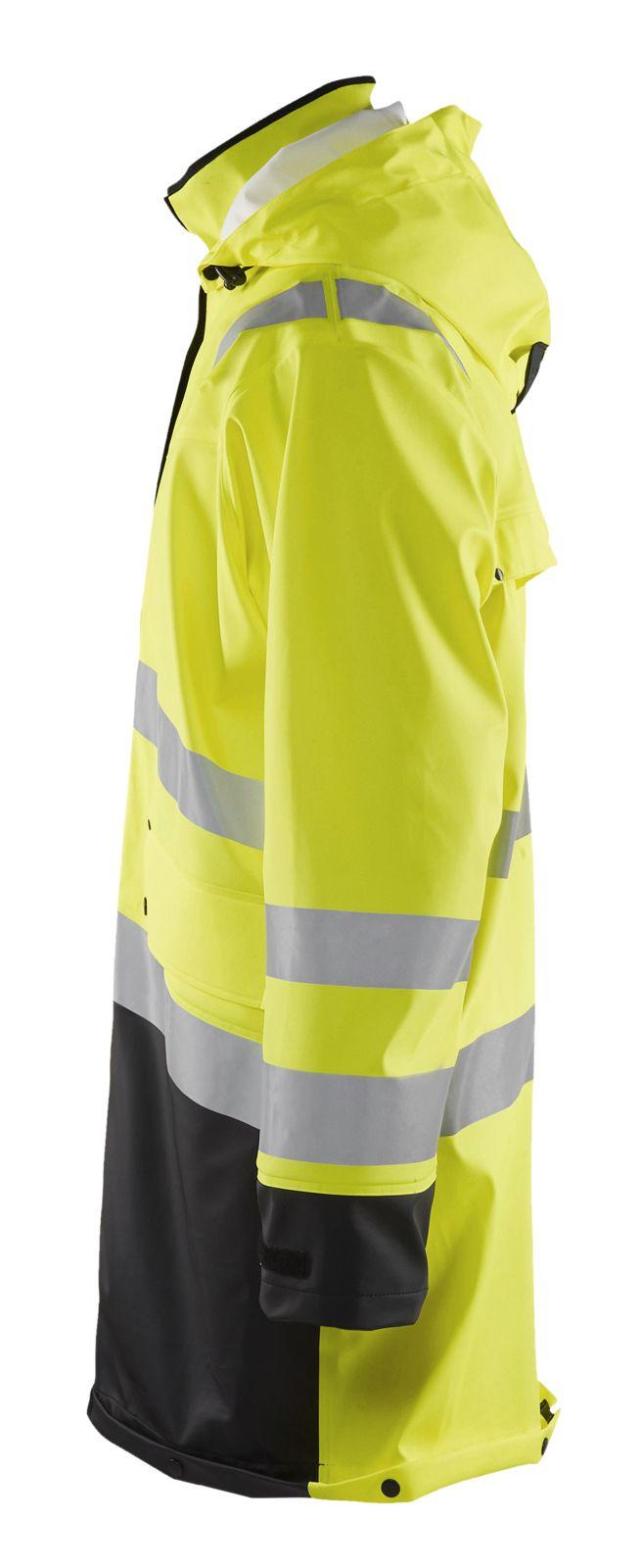 Blaklader Regenjassen 43062003 High Vis geel-zwart(3399)