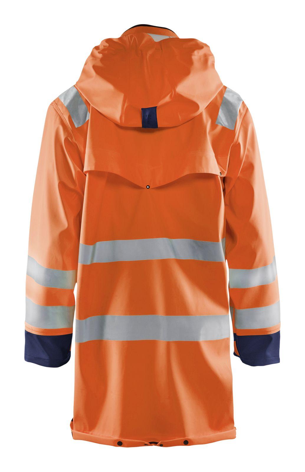 Blaklader Regenjassen 43062003 High Vis oranje-marineblauw(5389)