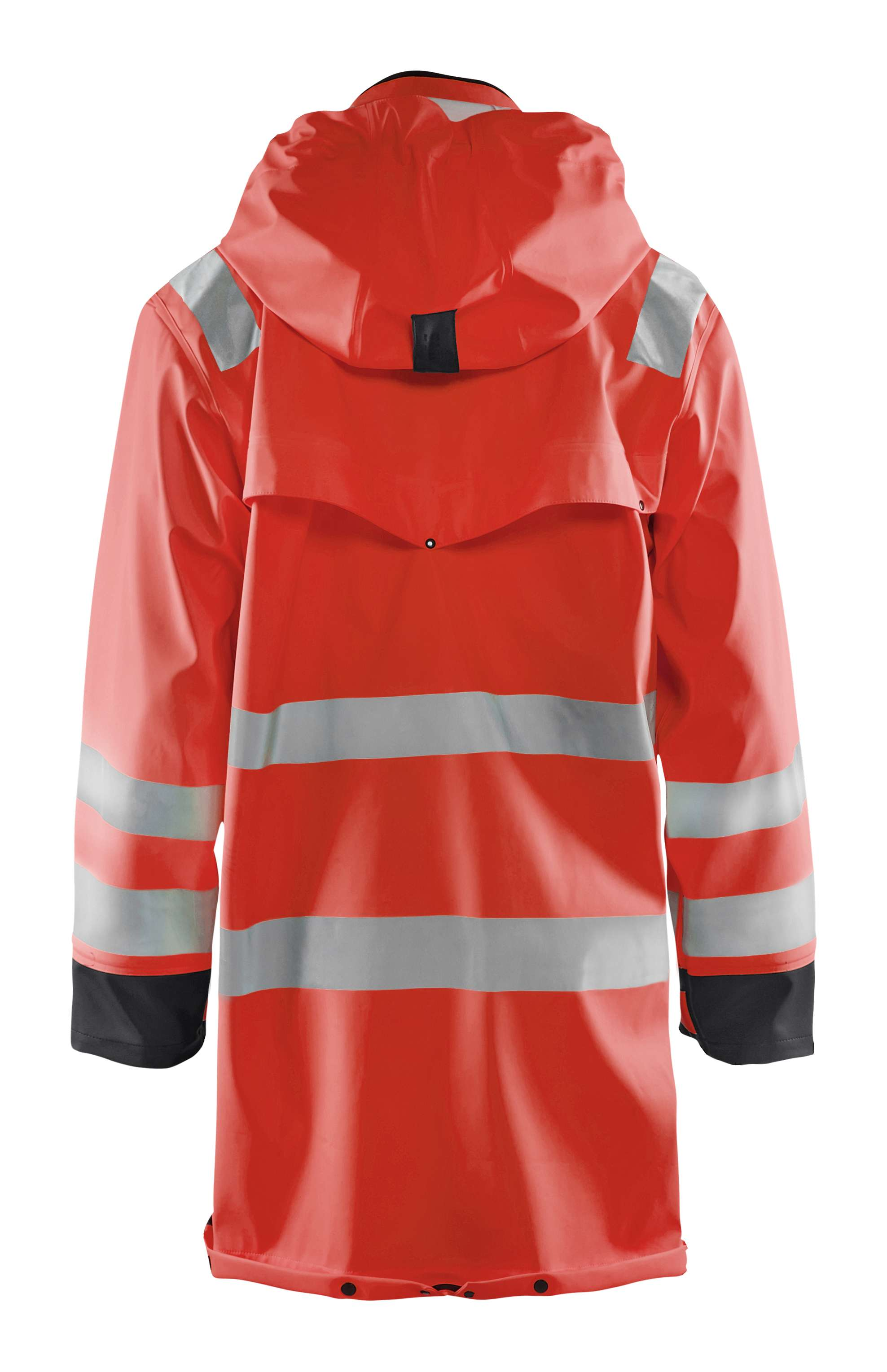 Blaklader Regenjassen 43062003 High Vis fluor rood-zwart(5599)