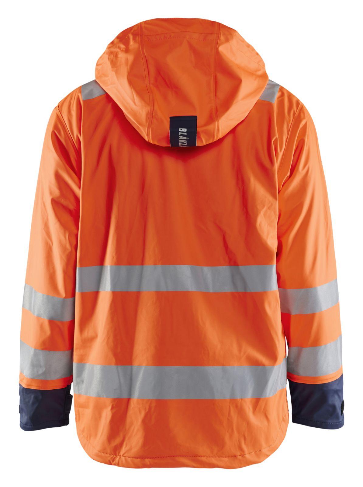 Blaklader Jassen 43072003 High Vis fluo oranje-marineblauw(5389)