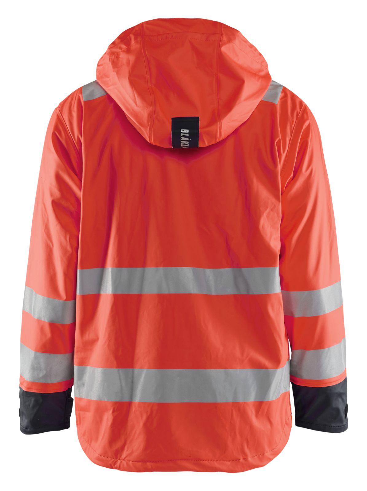 Blaklader Jassen 43072003 High Vis fluo rood-zwart(5599)