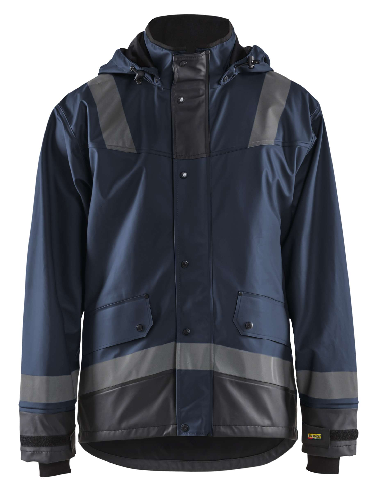 Blaklader Regenjassen 43222003 donker marineblauw-zwart(8699)