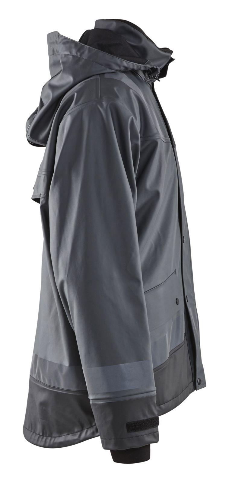 Blaklader Regenjassen 43222003 donkergrijs-zwart(9899)