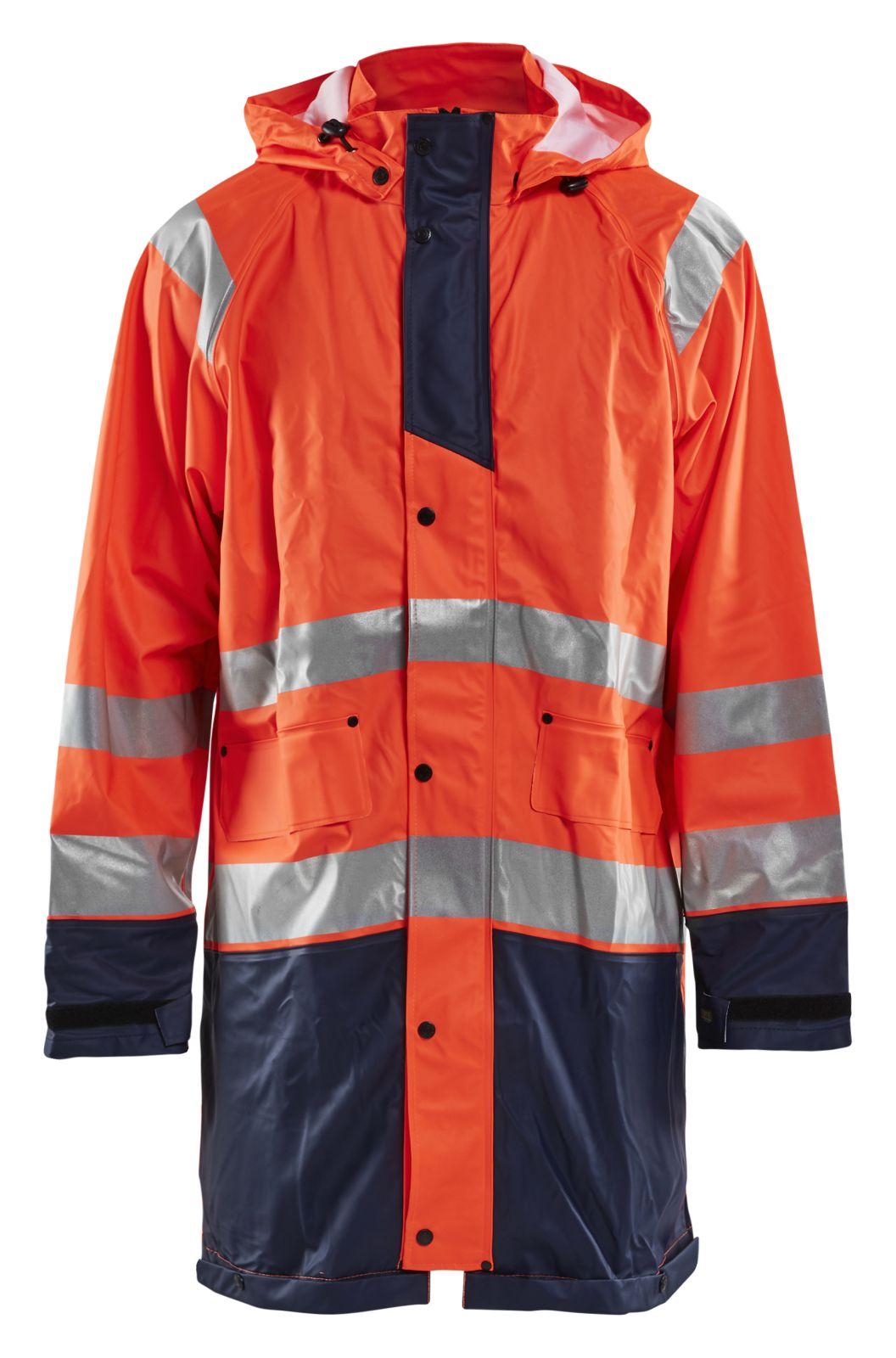 Blaklader Regenjassen 43242000 High Vis oranje-marineblauw(5389)